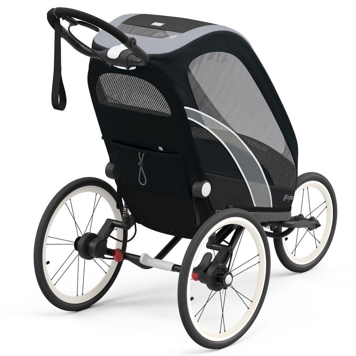 ZENO carrito SPORT GOODS Cybex negro-All Black