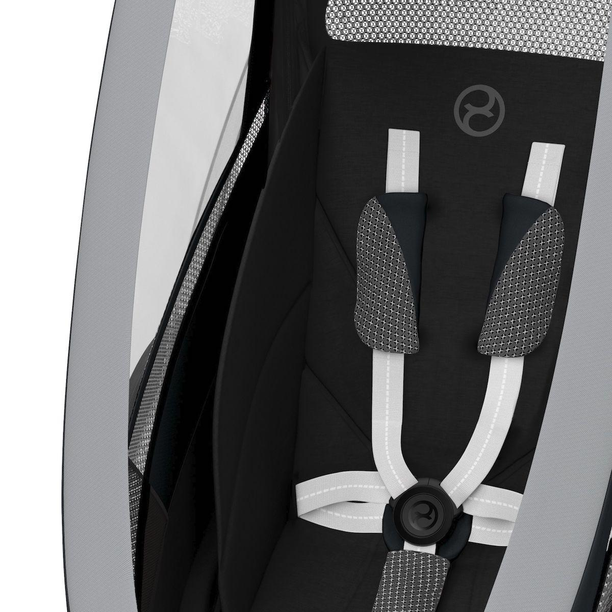 ZENO pack asiento SPORT GOODS Cybex All Black