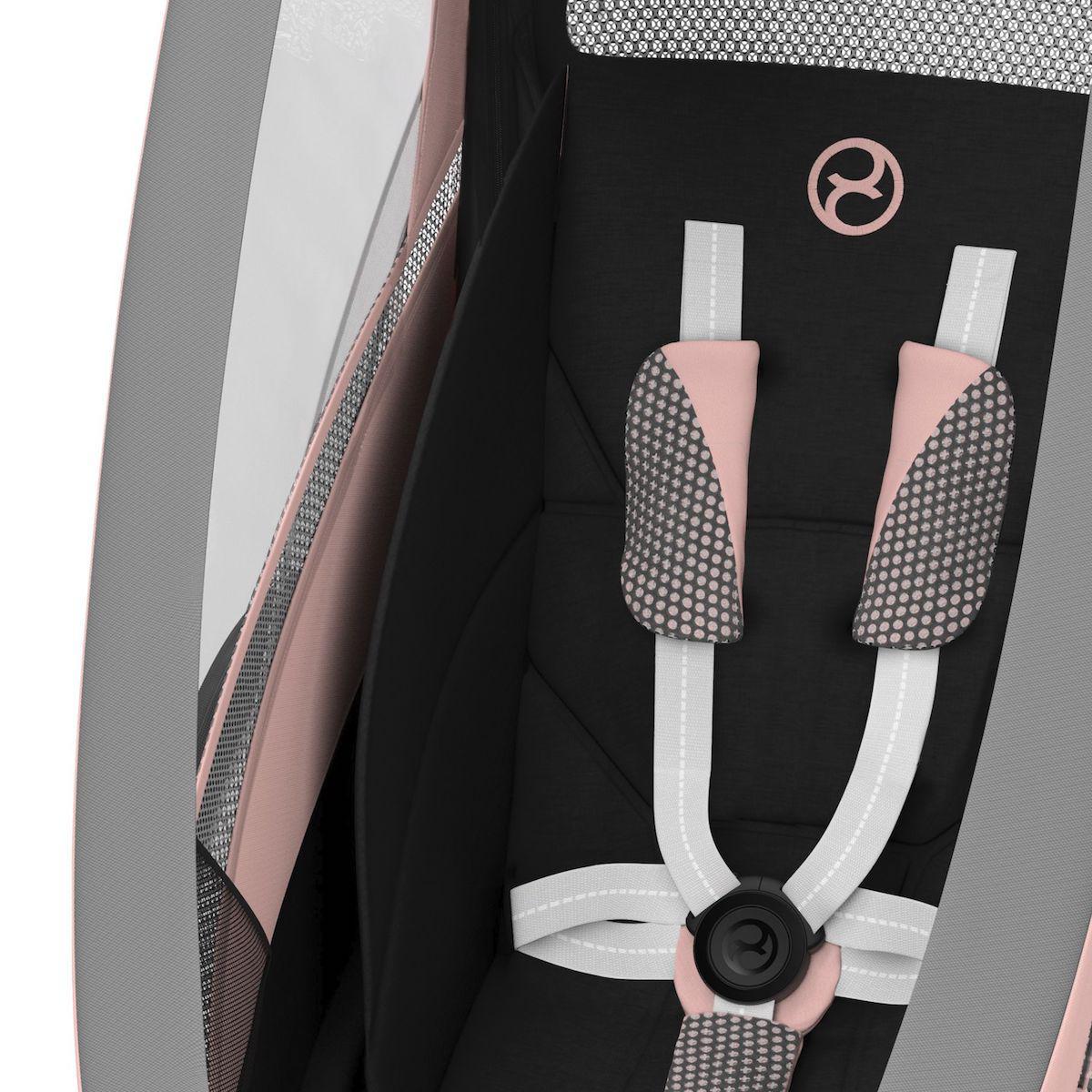 ZENO pack asiento SPORT GOODS Cybex Silver Pink